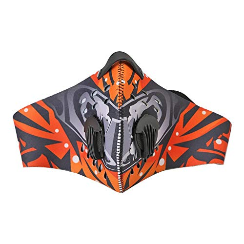 - holygloomy MTB Bike Riding Cycling Outdoor Dustproof Protection Half Face Mask Cover