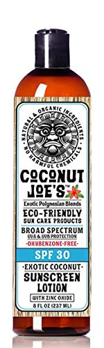 Sunscreen Coconut Joes Natural Organic