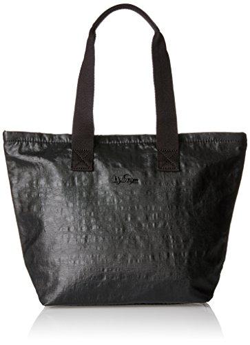Kipling Women's K1435040G Messenger Bag, Multicoloured (Retro Geo Black), 36 cm Black (Lacquer Night)