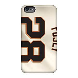 Iphonecase88 Apple Iphone 6s Plus Excellent Cell-phone Hard Covers Unique Design Attractive San Francisco Giants Image [JkP862XuGB]