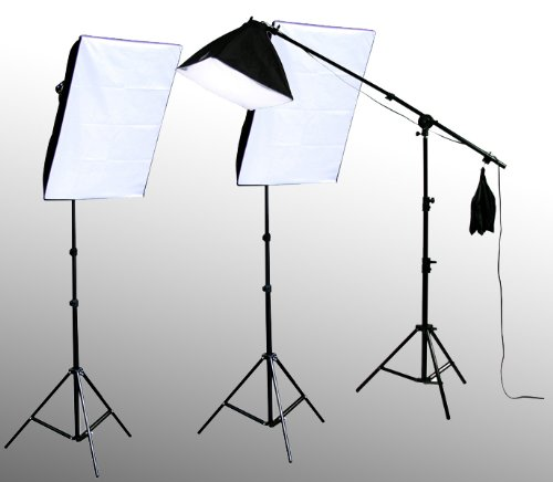 ePhoto VL9026s_4 2800 Watt Digital Video Studio Kit with Carrying Bag by ePhoto
