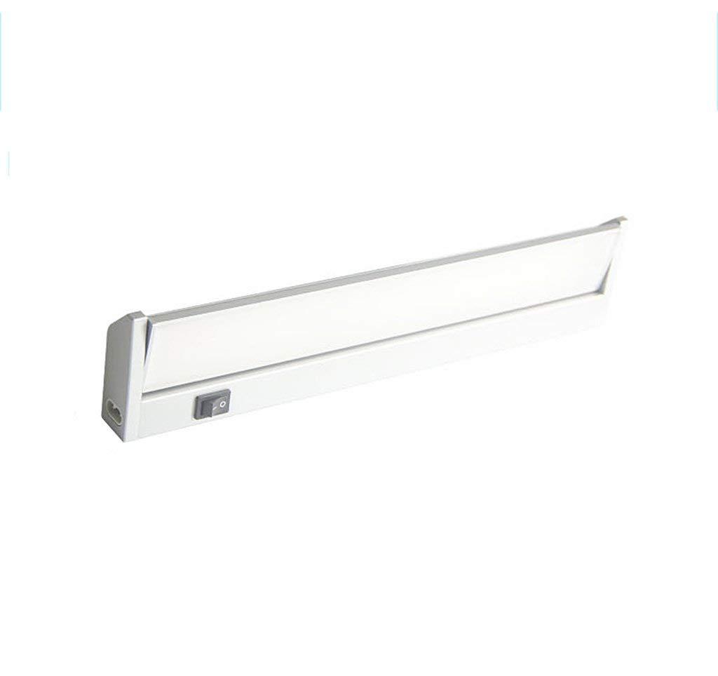 Weiß-long57.9cm SCJ LED-Spiegelleuchte, Bad wasserdicht Nebelspiegel Kabinett Licht mit Schalter Bad Eitelkeit Licht einfache Moderne Lange 35,1 57,9 cm Wasserdicht, Anti-Fog (Farbe  Weiß-Long57,9 cm)