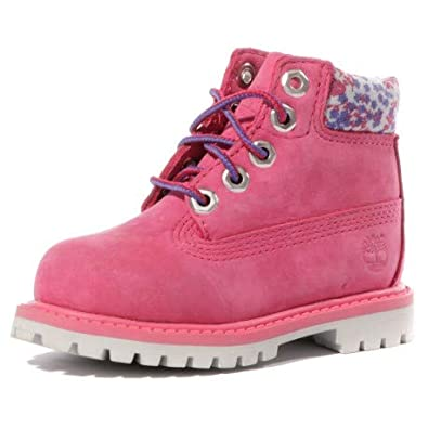 6e4d5cee11c Timberland 6 in Premium Bébé Fille Boots Rose  Amazon.fr  Chaussures ...