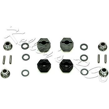 Traxxas TRA3654 Front Hex Wheel Hubs 2 W//Pins 3654 Stampede Slash Rustler 2WD