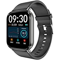 """HalfSun Fitness Tracker, 2021 Upgrade Customize Face 1.69"""" Smart Watch Fitness Watch with Heart Rate Blood Pressure…"""