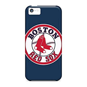 Iphone 5c RUk3468nJCe Custom Colorful Baseball Boston Red Sox 1 Image Anti-Scratch Cell-phone Hard Cover -MansourMurray