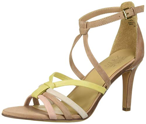 (Naturalizer Women's Kadin Sandal, Ginger Multi, 6 M US)