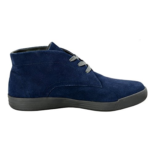 Versace Jeans Mens Blue Suede Leather Lace Up Boots Shoes US 11 IT 44 jOsi5N