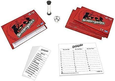 Hasbro Gaming - Scattergories, Juego de Preguntas (versión en inglés): Amazon.es: Juguetes y juegos