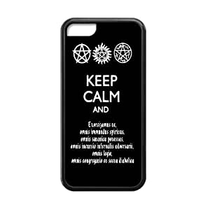 CTSLR Laser Technology Supernatural TPU Case Cover Skin for Cheap Apple iPhone 5C-1 Pack- Black - 5
