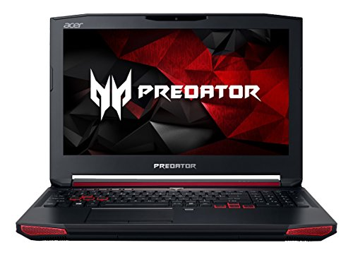 "Acer Predator 15 Gaming Laptop, 15.6"" Full HD, Core i7, NVIDIA GTX980M, 16GB DDR4, 256GB SSD, 1TB HDD, G9-591-70XR"