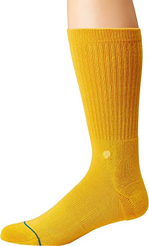Gold Icon - Stance Icon Socks Large Gold