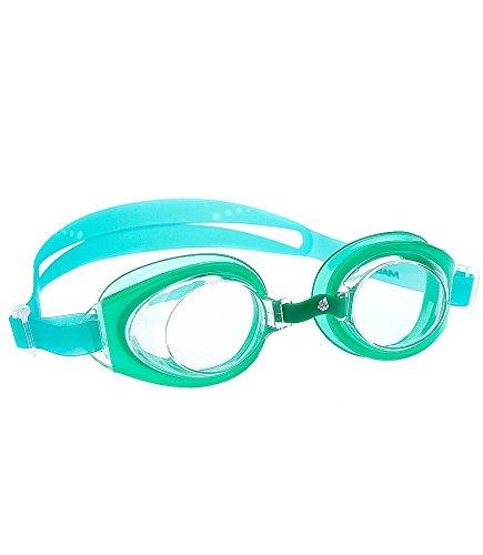 Mad Wave Kids M041107005W Lunettes, taille unique vert - Vert