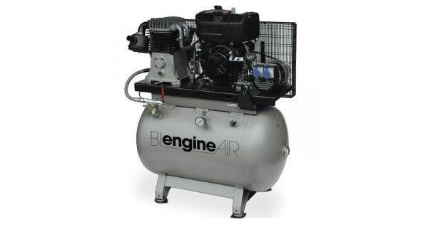 Compresor de aire bi-energie Independiente Motor Diesel lambardini 7, 5 CV abacâ: Amazon.es: Bricolaje y herramientas