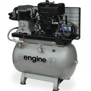 Compresor de aire bi-energie Independiente Motor Diesel lambardini 7, 5 CV abacâ
