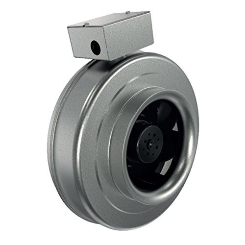 Fkd Series (Fantech FG12XL EC Series 100% speed controllable Width 16, Height 18, Depth 10.5, USA, Premium Inline Circular Duct Fan, Airtight construction, 5 year warranty, Permanently lubricated sealed bearings, 100% speed controllable)