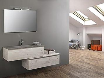Linea Just U2013 Apenino Bewegliche Set Für Badezimmer, Modernes Design Aspekt  Holz