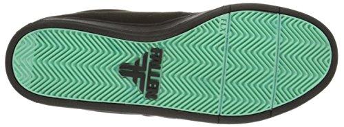 Fallna Mens Slash 2 Skateboard Sko Svart / Mint