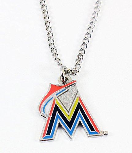 - Miami Marlins Logo Necklace
