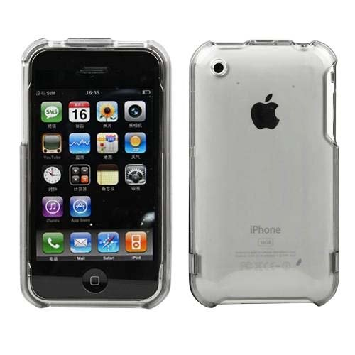 Apple Iphone 3g Crystal - Importer520 Transparent Crystal Clear Snap-On Cover Hard Case Cell Phone Protector For Apple iPhone 3G 3GS 16GB/32GB