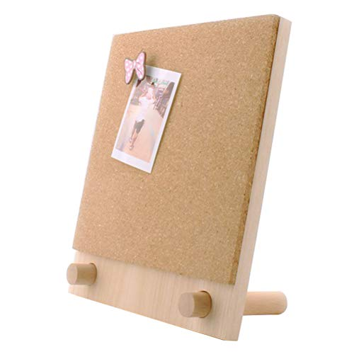 Loghot Desktop Cork Board/Message Board/Bulletin Board-Hanging Tack Message Memo Picture for Home Office School to Use
