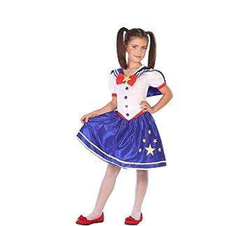 Atosa-56993 Disfraz Colegiala, Color Azul, 7 a 9 años (56993 ...