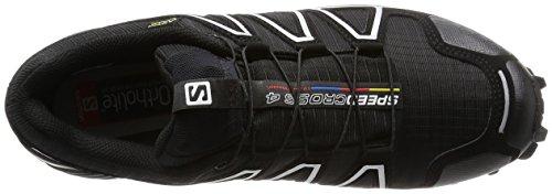 Hombre silver Gtx 4 Running Negro De Salomon Zapatillas Speedcross Metallic Para zFwx07