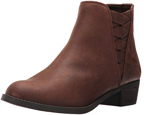 Carlos by Carlos Santana Women's BERT Ankle Boot, Cognac, 9 Medium US
