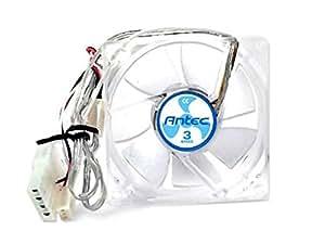 Antec TriCool 80mm ventilador de refrigeración con interruptor de 3 velocidades