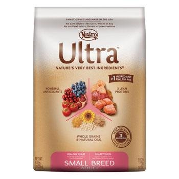 Ultra Dog Small Breed Adult Dog Food, 8-Pound, My Pet Supplies