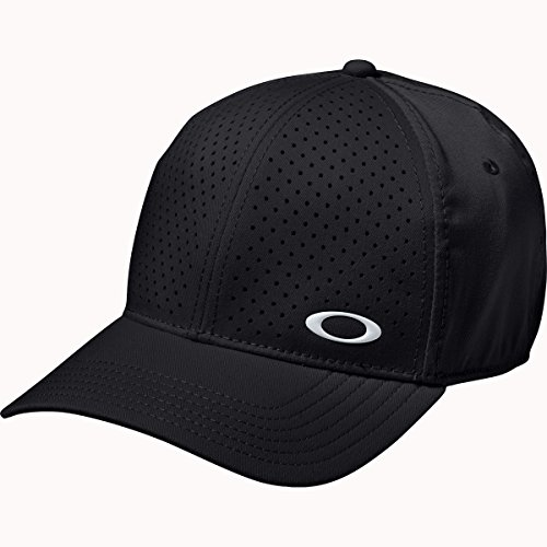 Oakley Men's Golf Perf 2.0 Hat, Small/Medium, - Black Hat Oakley