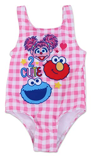 Infant Girl Sesame Street One Piece Swimsuit 24M