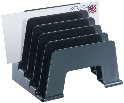 Officemate Recycled Incline Sorter, Black (26002) Plastic Incline Sorter