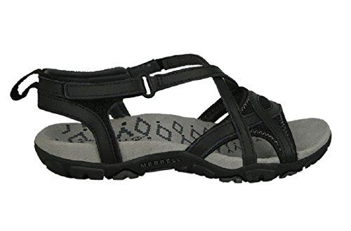 Merrell Women's, Sandspur Delta Wrap Sandals Be Prepared for Wherever The Day t Black 8 -