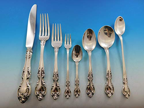Melrose by Gorham Sterling Silver Flatware Set 12 Service 115 Pieces Dinner Size