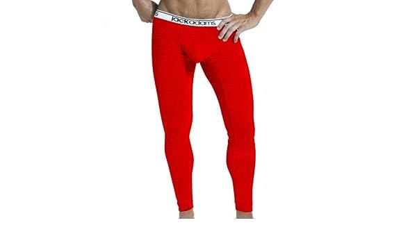 Jack Adams Hombre Core Long John Underwear Ropa Interior Calzoncillos Rojo Large: Amazon.es: Ropa y accesorios