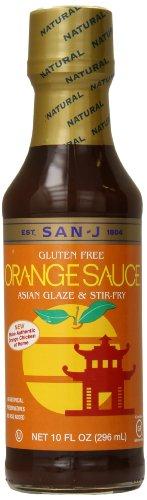 (San J Sauce, Orange, 10 Ounce)