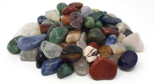 Harmony Gem Tumbled Polished Natural Gem Stones Assorted Mix - Small Size - 0.75