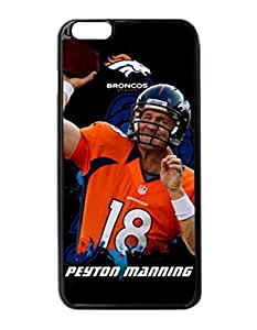 "Denver Broncos Hard Snap On Protector Sport Fans Case Cover iPhone 6 Plus 5.5"" inches by DyannCovers"