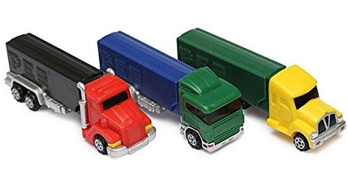 PEZ Candy Truck Rigs Assortment Blister Pack (Pack of - Assortment Blister