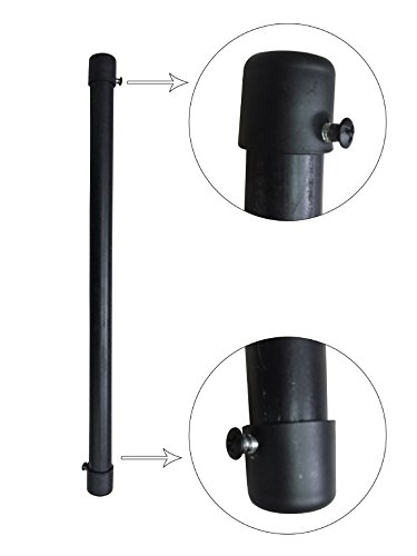 Outdoor Lamp Post Ladder Rest - 3