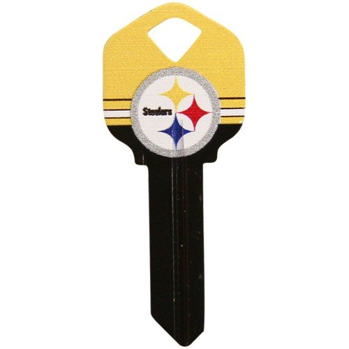 - Pittsburgh Steelers Black-Gold House Key
