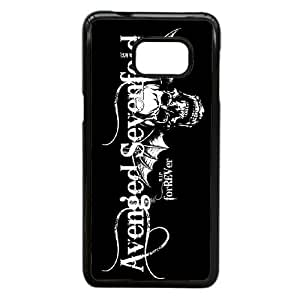 Durable Rubber Cover Samsung Galaxy S6 Edge Plus Cell Phone Case Black Ypnec Avenged Sevenfold Band Special Design Case