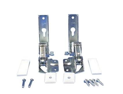 Kühlschrank Türscharnier : Set scharnier türscharnier oben unten kühlschrank