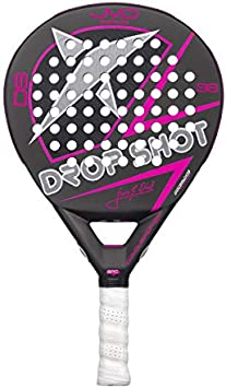 DROP SHOT Conqueror Tech Red Pala de pádel, Adultos Unisex, 0