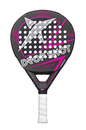 DROP SHOT Conqueror Tech Red Pala de pádel, Adultos Unisex, 0 ...
