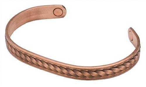 Sabona Copper Rope Magnetic Bracelet, Size Medium by Sabona
