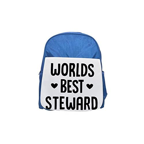 World 's Best Mozo Printed Kid' s blue Backpack, cute Backpacks, cute small Backpacks, cute Black Backpack, Cool Black Backpack, Fashion Backpacks, Large Fashion Backpacks, Black Fashion Backpack