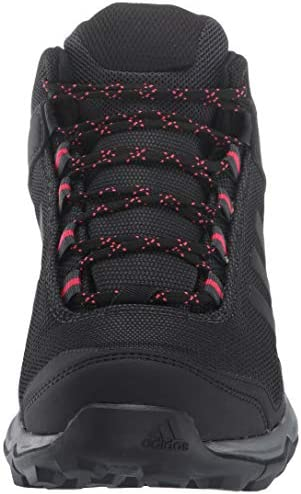 adidas Outdoor Women's Terrex EASTRAIL MID GTX Hiking Boot Carbon/Black/Active Pink 9.5 M US