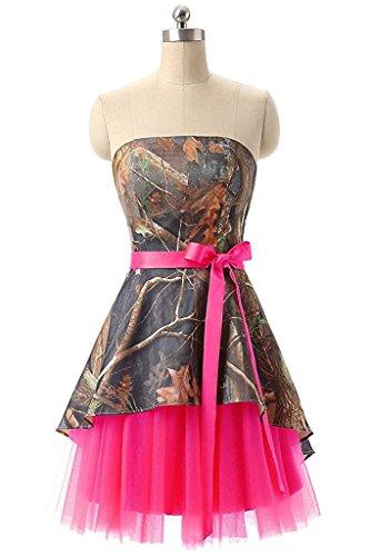 formal camo dresses prom - 3